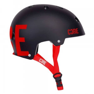 CORE Street kask | Black Red