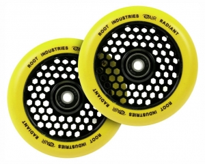 ROOT Air 110mm Honeycore 2-pack Stunt scooter wheels | Radiant Yellow