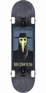 "Birdhouse Stage 3 Plague Doctor Deskorolka | 8"" Black"