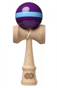 Kaizen 1.0 Kendama Single Stripe | Purple & Aqua