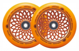 Root Industries Lotus 110mm kółka do hulajnogi wyczynowej 2-pak | Radiant Orange