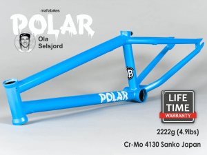 "Rama BMX Mafiabikes Polar 20.6"" Ice Blue"