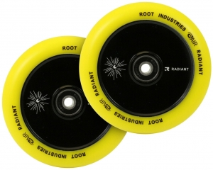 ROOT Air 120mm 2-pack stunt scooter wheels | Radiant Yellow